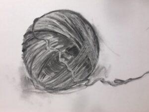 lijnen in een bol