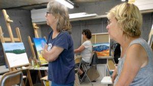schilderij bespreken